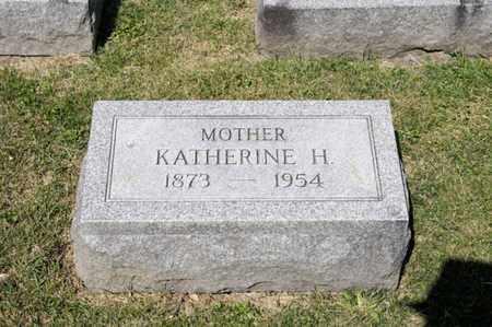 INSCHO, KATHERINE H - Richland County, Ohio   KATHERINE H INSCHO - Ohio Gravestone Photos
