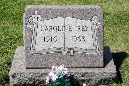 IREY, CAROLINE - Richland County, Ohio | CAROLINE IREY - Ohio Gravestone Photos