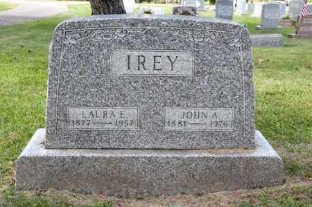 IREY, LAURA E - Richland County, Ohio | LAURA E IREY - Ohio Gravestone Photos