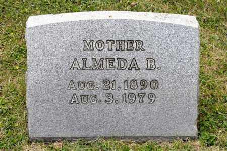IRWIN, ALMEDA B - Richland County, Ohio | ALMEDA B IRWIN - Ohio Gravestone Photos