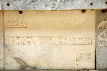 IRWIN, ISRAEL HUNTER - Richland County, Ohio | ISRAEL HUNTER IRWIN - Ohio Gravestone Photos