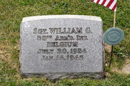 IRWIN, WILLIAM G - Richland County, Ohio   WILLIAM G IRWIN - Ohio Gravestone Photos