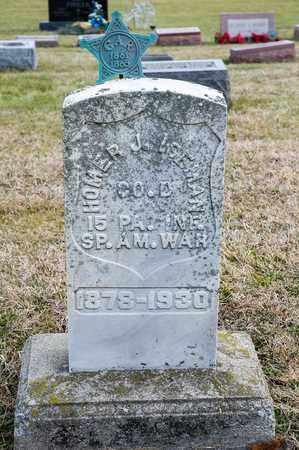 ISEMAN, HOMER J - Richland County, Ohio | HOMER J ISEMAN - Ohio Gravestone Photos