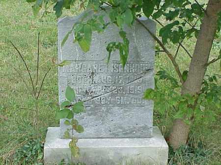 ISENHOUER, MARGARET - Richland County, Ohio | MARGARET ISENHOUER - Ohio Gravestone Photos