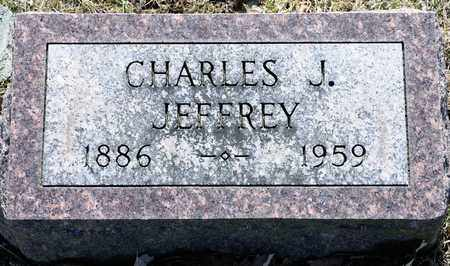 JEFFREY, CHARLES J - Richland County, Ohio | CHARLES J JEFFREY - Ohio Gravestone Photos