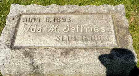JEFFRIES, IDA M - Richland County, Ohio | IDA M JEFFRIES - Ohio Gravestone Photos