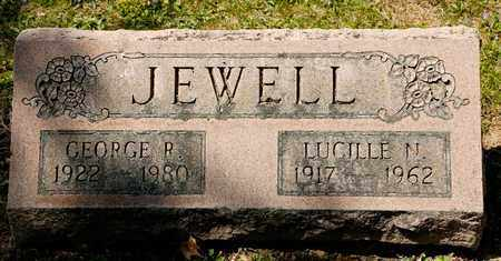 JEWELL, LUCILLE N - Richland County, Ohio | LUCILLE N JEWELL - Ohio Gravestone Photos