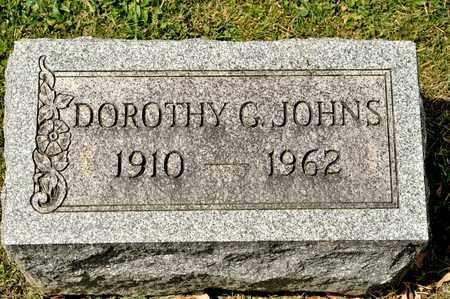 JOHNS, DOROTHY G - Richland County, Ohio | DOROTHY G JOHNS - Ohio Gravestone Photos