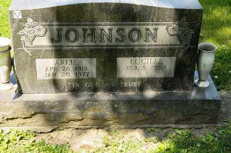 JOHNSON, ARLIE - Richland County, Ohio   ARLIE JOHNSON - Ohio Gravestone Photos