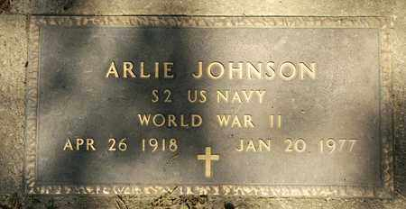 JOHNSON, ARLIE - Richland County, Ohio | ARLIE JOHNSON - Ohio Gravestone Photos