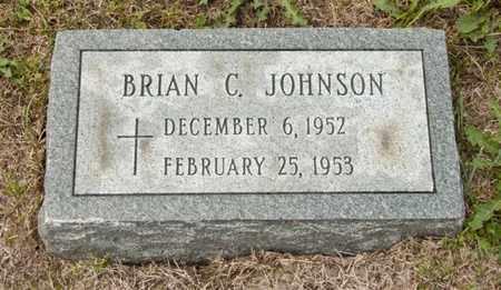 JOHNSON, BRIAN C - Richland County, Ohio | BRIAN C JOHNSON - Ohio Gravestone Photos