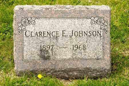 JOHNSON, CLARENCE E - Richland County, Ohio | CLARENCE E JOHNSON - Ohio Gravestone Photos