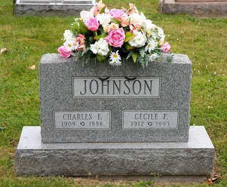 JOHNSON, CHARLES F - Richland County, Ohio | CHARLES F JOHNSON - Ohio Gravestone Photos