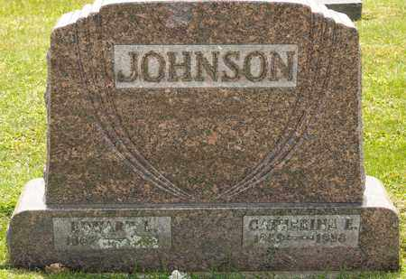 JOHNSON, CATHERINE E - Richland County, Ohio | CATHERINE E JOHNSON - Ohio Gravestone Photos