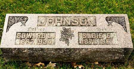 JOHNSON, EDWARD L - Richland County, Ohio | EDWARD L JOHNSON - Ohio Gravestone Photos