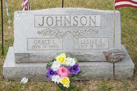 JOHNSON, GRACE L - Richland County, Ohio | GRACE L JOHNSON - Ohio Gravestone Photos