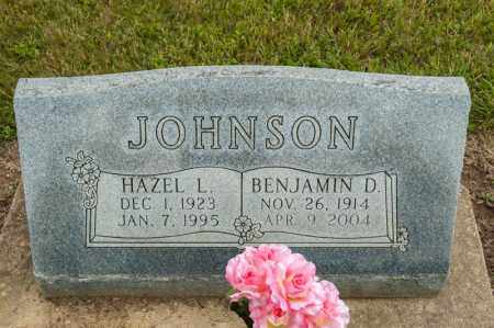 JOHNSON, BENJAMIN D - Richland County, Ohio | BENJAMIN D JOHNSON - Ohio Gravestone Photos