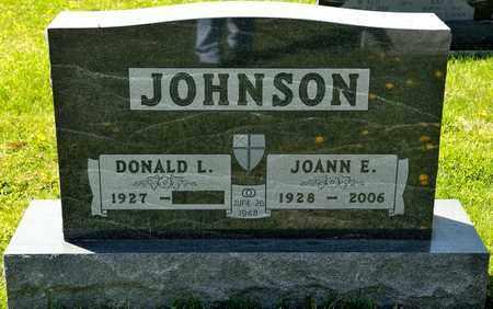 JOHNSON, JOANN E - Richland County, Ohio   JOANN E JOHNSON - Ohio Gravestone Photos