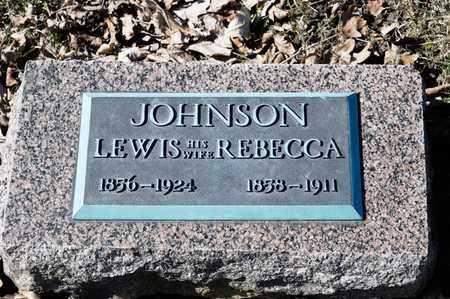 JOHNSON, REBECCA - Richland County, Ohio | REBECCA JOHNSON - Ohio Gravestone Photos