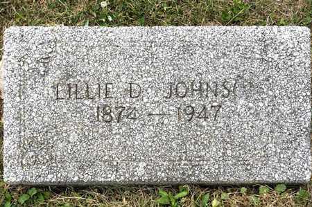 JOHNSON, LILLIE D - Richland County, Ohio | LILLIE D JOHNSON - Ohio Gravestone Photos