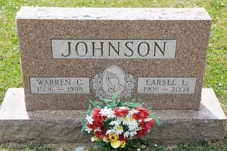 JOHNSON, EARSEL L - Richland County, Ohio | EARSEL L JOHNSON - Ohio Gravestone Photos