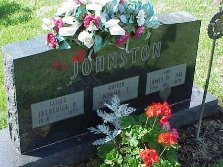 JOHNSTON, FREDERICK D. - Richland County, Ohio | FREDERICK D. JOHNSTON - Ohio Gravestone Photos