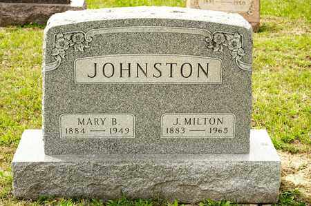 JOHNSTON, J MILTON - Richland County, Ohio | J MILTON JOHNSTON - Ohio Gravestone Photos