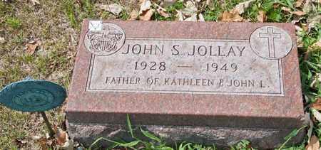 JOLLAY, JOHN S - Richland County, Ohio | JOHN S JOLLAY - Ohio Gravestone Photos
