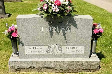 JONES, GEORGE P - Richland County, Ohio   GEORGE P JONES - Ohio Gravestone Photos