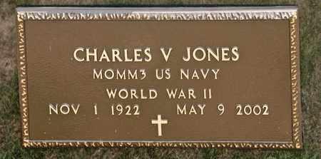 JONES, CHARLES V - Richland County, Ohio | CHARLES V JONES - Ohio Gravestone Photos