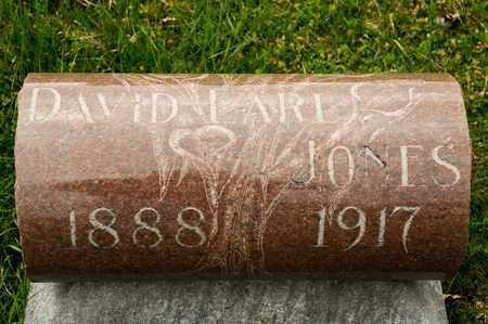 JONES, DAVID EARL - Richland County, Ohio | DAVID EARL JONES - Ohio Gravestone Photos