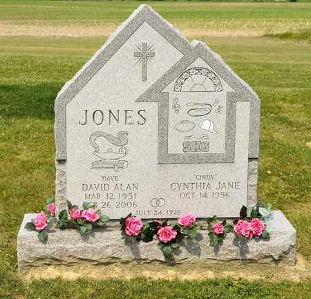 JONES, DAVID ALAN - Richland County, Ohio | DAVID ALAN JONES - Ohio Gravestone Photos