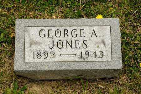 JONES, GEORGE A - Richland County, Ohio   GEORGE A JONES - Ohio Gravestone Photos