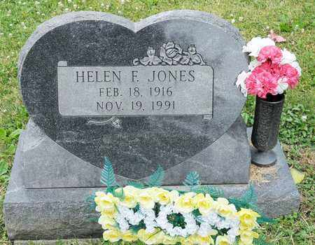 JONES, HELEN F - Richland County, Ohio | HELEN F JONES - Ohio Gravestone Photos