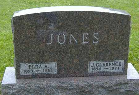 MCFARLAND JONES, ELDA ALICE - Richland County, Ohio | ELDA ALICE MCFARLAND JONES - Ohio Gravestone Photos