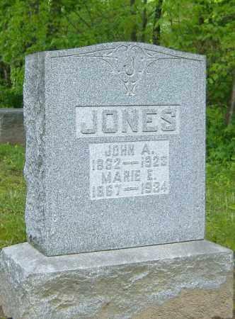 JONES, JOHN A. - Richland County, Ohio | JOHN A. JONES - Ohio Gravestone Photos