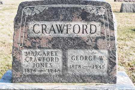 CRAWFORD, GEORGE W - Richland County, Ohio | GEORGE W CRAWFORD - Ohio Gravestone Photos