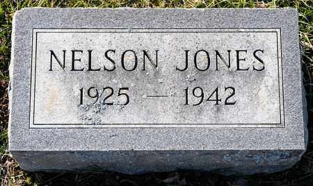 JONES, NELSON - Richland County, Ohio   NELSON JONES - Ohio Gravestone Photos