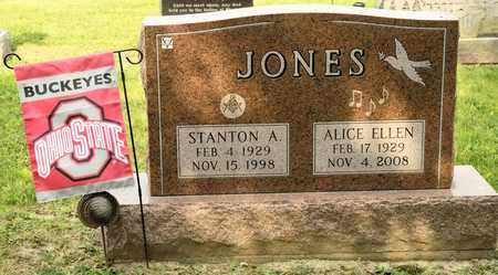 JONES, ALICE ELLEN - Richland County, Ohio | ALICE ELLEN JONES - Ohio Gravestone Photos