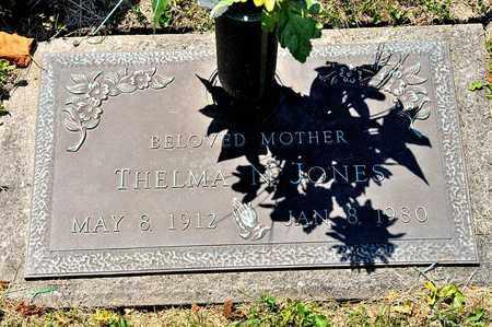 JONES, THELMA N - Richland County, Ohio | THELMA N JONES - Ohio Gravestone Photos