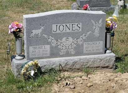 JONES, TRUBIE L - Richland County, Ohio | TRUBIE L JONES - Ohio Gravestone Photos