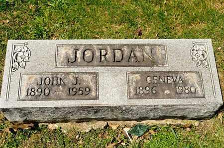 JORDAN, GENEVA - Richland County, Ohio | GENEVA JORDAN - Ohio Gravestone Photos