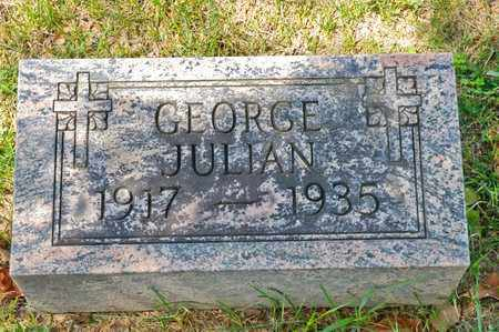 JULIAN, GEORGE - Richland County, Ohio   GEORGE JULIAN - Ohio Gravestone Photos
