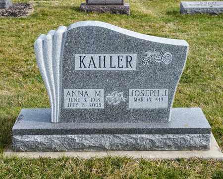 KAHLER, ANNA M - Richland County, Ohio | ANNA M KAHLER - Ohio Gravestone Photos