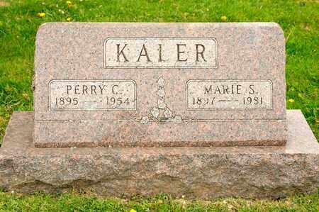 KALER, PERRY C - Richland County, Ohio | PERRY C KALER - Ohio Gravestone Photos