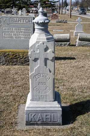SCHUSTER KARL, CATHARINE - Richland County, Ohio | CATHARINE SCHUSTER KARL - Ohio Gravestone Photos