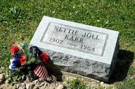 JOLL KARR, NETTIE - Richland County, Ohio | NETTIE JOLL KARR - Ohio Gravestone Photos