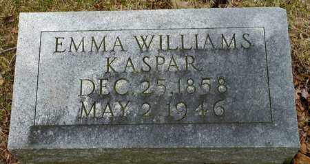 KASPAR, EMMA - Richland County, Ohio | EMMA KASPAR - Ohio Gravestone Photos