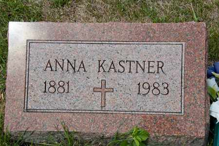 KASTNER, ANNA - Richland County, Ohio | ANNA KASTNER - Ohio Gravestone Photos