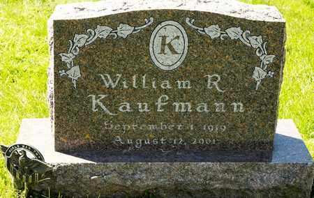 KAUFMANN, WILLIAM R - Richland County, Ohio | WILLIAM R KAUFMANN - Ohio Gravestone Photos